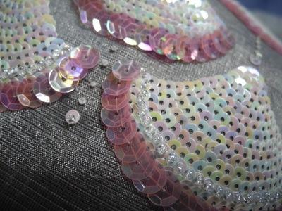 Asami Ohara - Bespoke embroidery sample (Summer internship 2013)