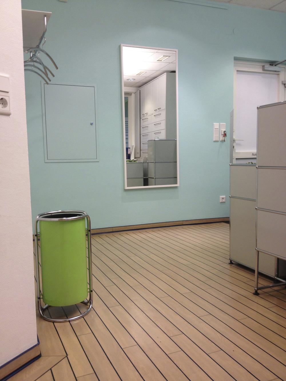 heikeschroeder.com - Der Eingangsbereich mit Garderobe.