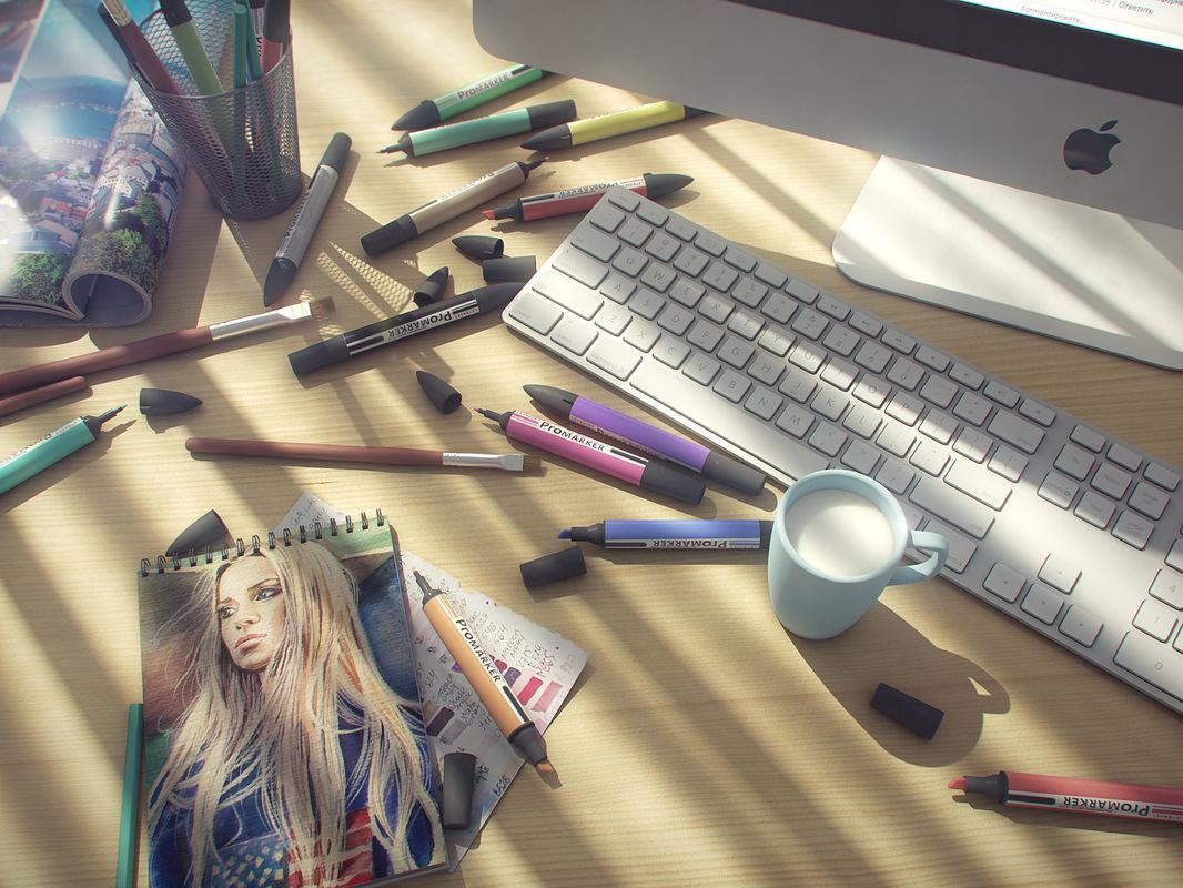 Myznikov Fedor Portfolio - 3Ds Max/V-Ray/Fusion/Lightroom