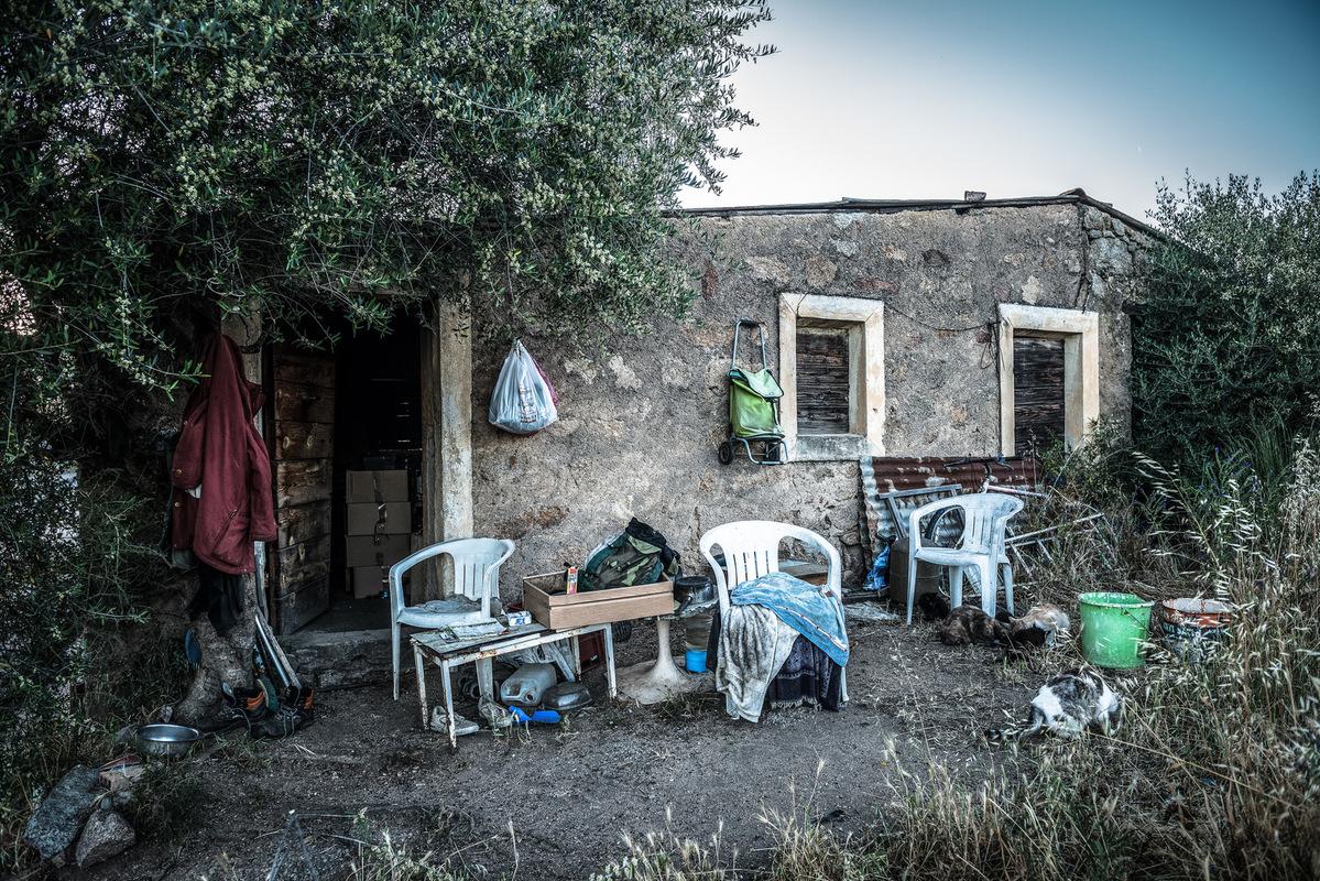 Fabien Delairon photographe - Chez Alain, en Corse