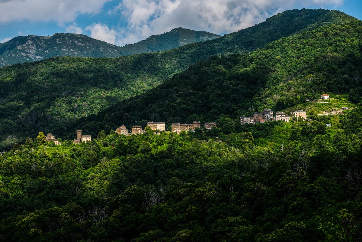 Fabien Delairon photographe - CORSE - Entre Morosaglia et Piedicruce