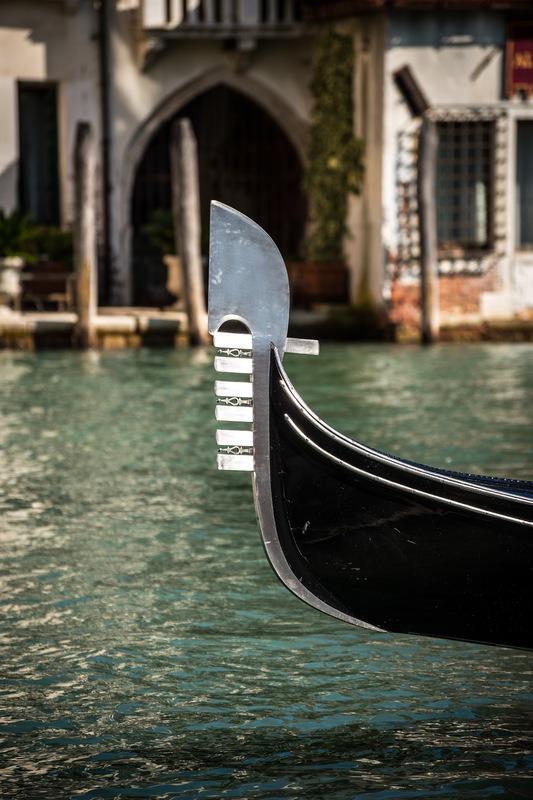 Fabien Delairon photographe - Italie - Venise, Détail de gondole