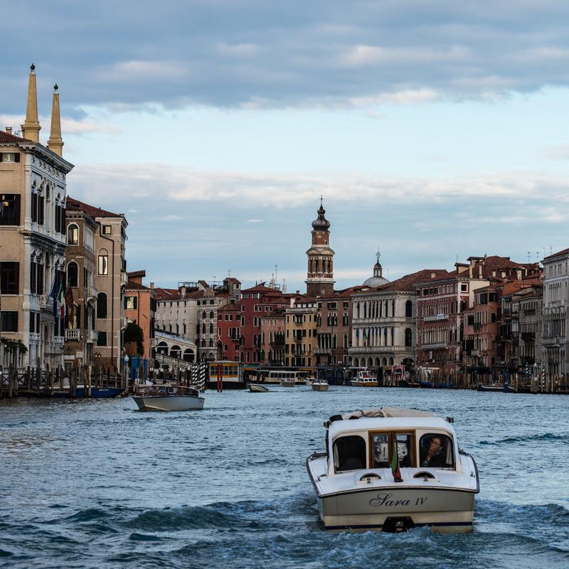 Fabien Delairon photographe - Italie - Venise, Grand Canal