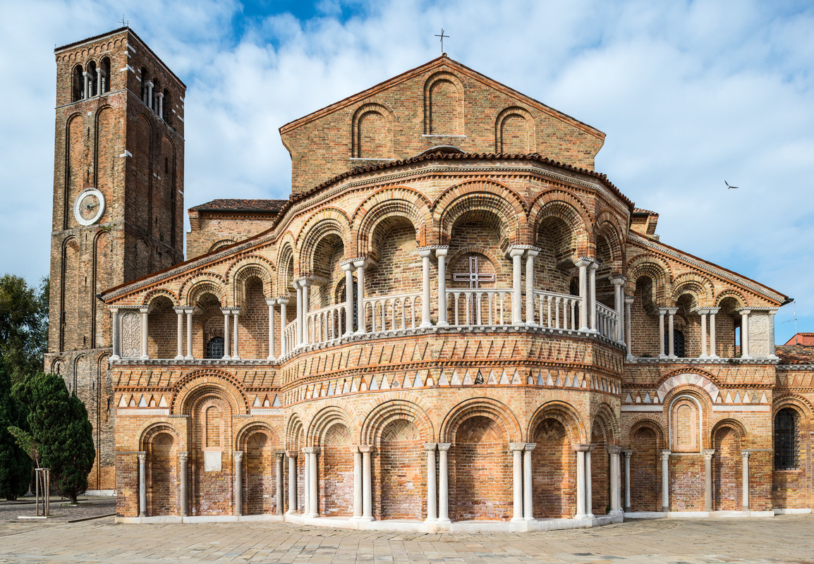 Fabien Delairon photographe - Italie - Murano - Basilique Santa Maria e Donato