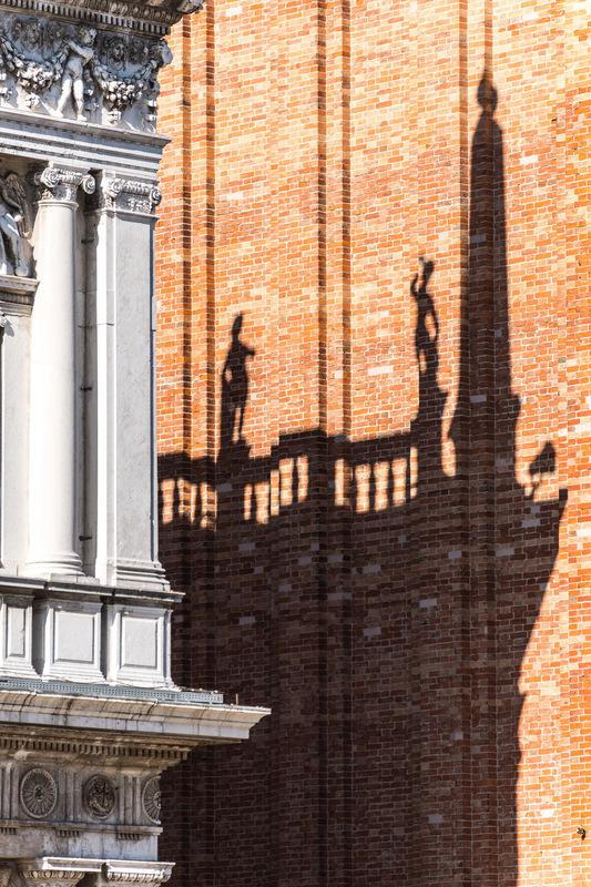 Fabien Delairon photographe - Italie - Venise, ombres sur le Campanile