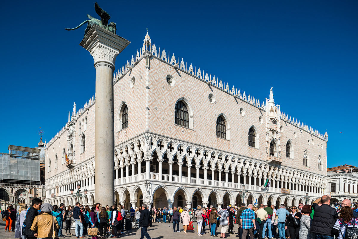 Fabien Delairon photographe - Italie - Venise, palais des Doges