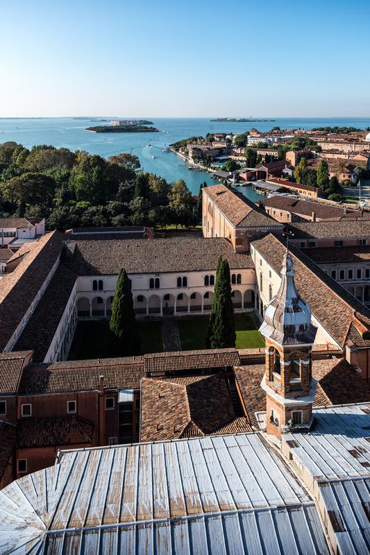 Fabien Delairon photographe - Italie - Venise, depuis Giorgio Maggiore