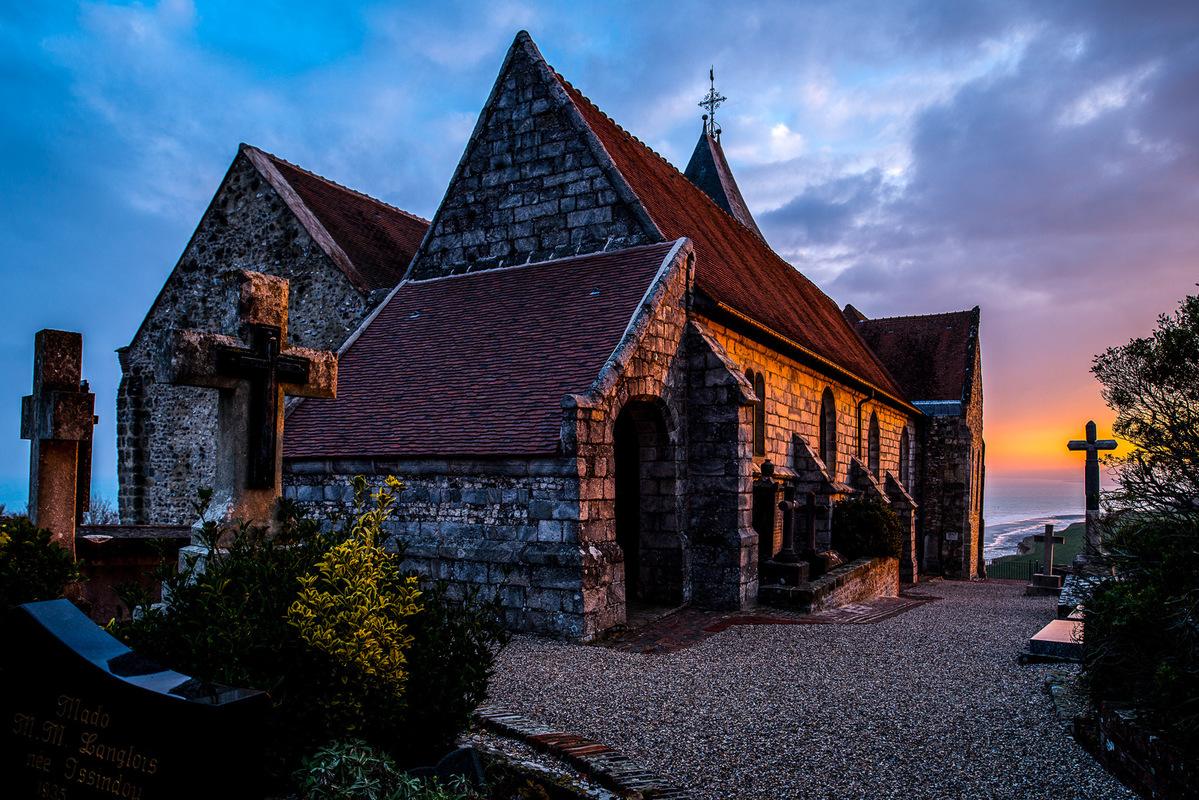 Fabien Delairon photographe - Normandie - Eglise de Varengeville