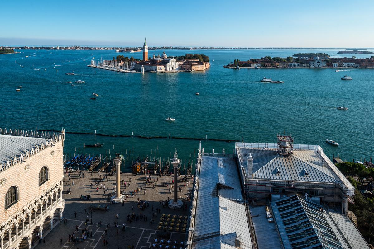 Fabien Delairon photographe - Italie - Venise, depuis le Campanile