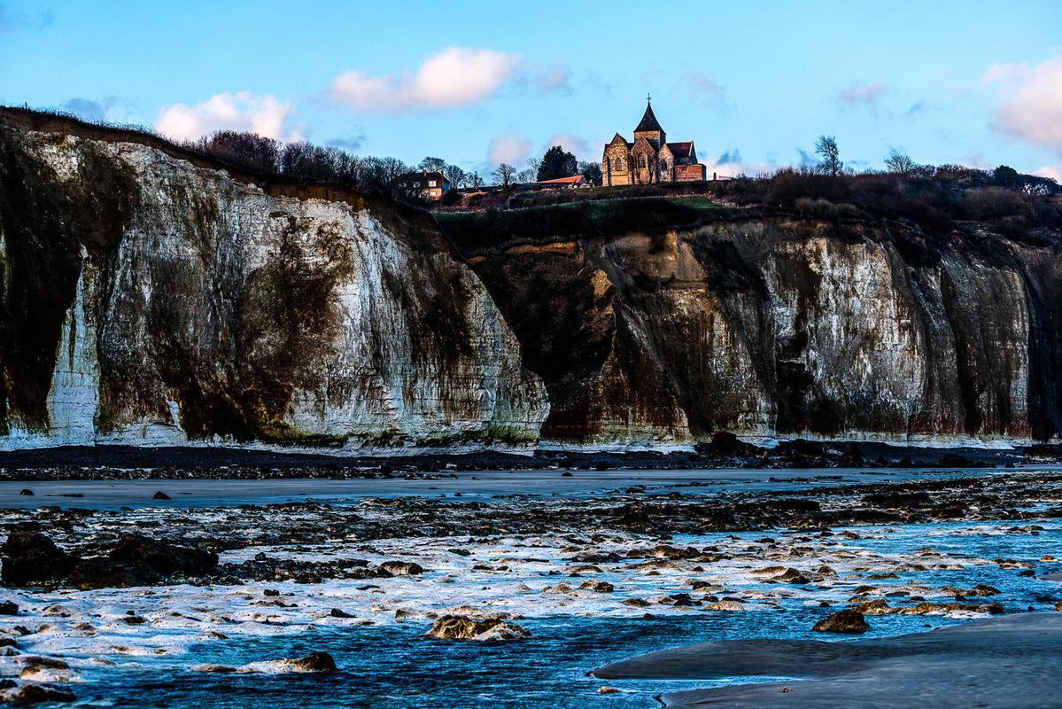 Fabien Delairon photographe - Normandie - Eglise de Varengeville peinte par Monet