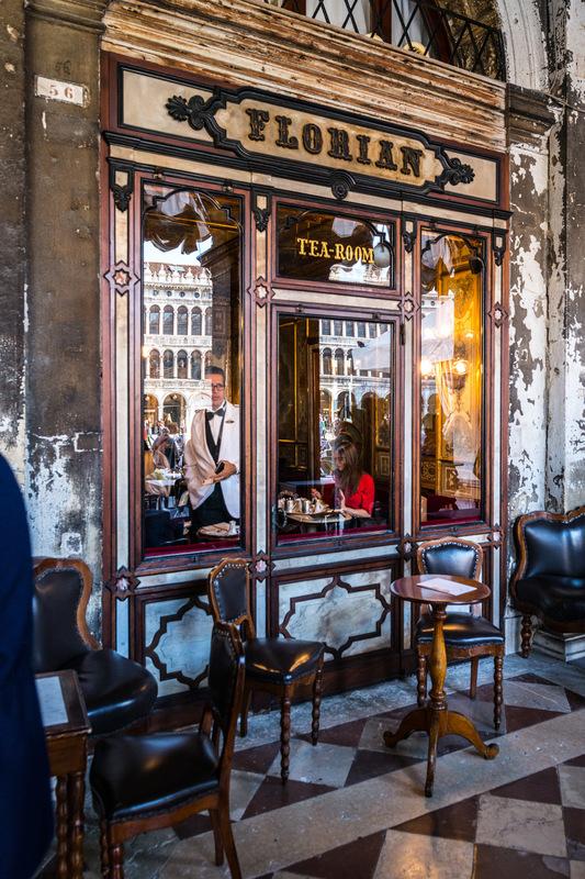 Fabien Delairon photographe - Italie - Venise, café Florian
