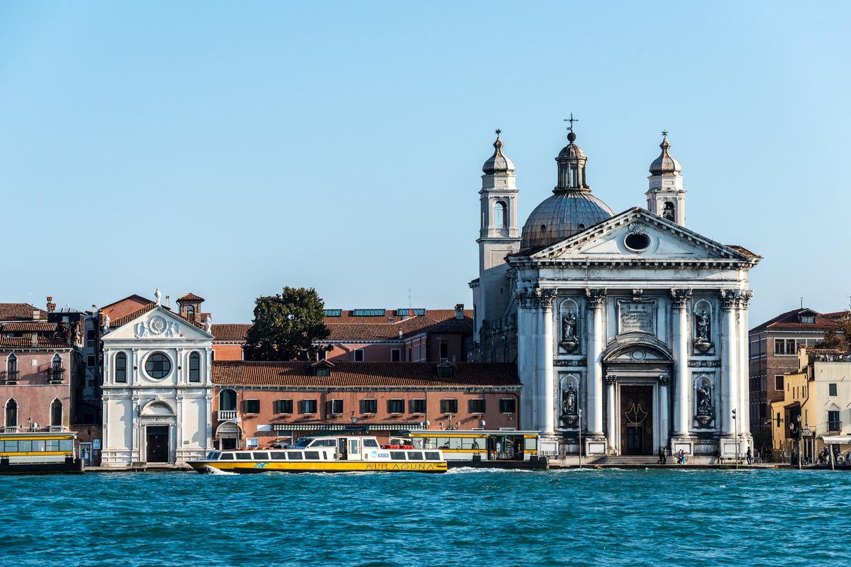 Fabien Delairon photographe - Italie - Venise, depuis le canal de la Giudecca - Eglise Gesuati