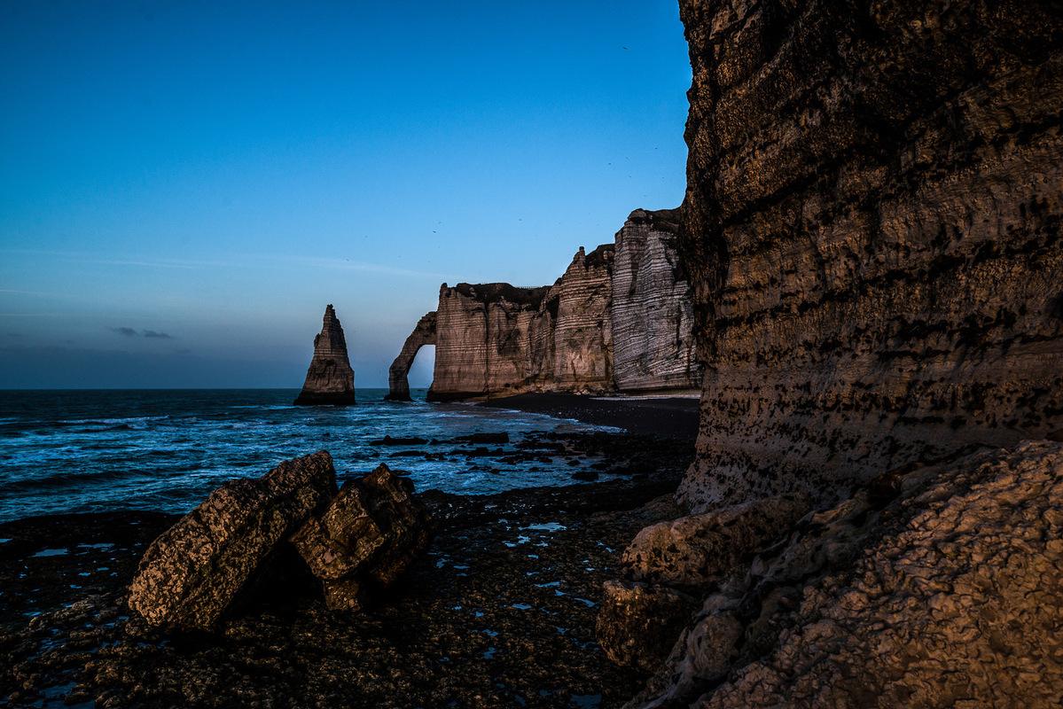 Fabien Delairon photographe - Haute Normandie - Etretat
