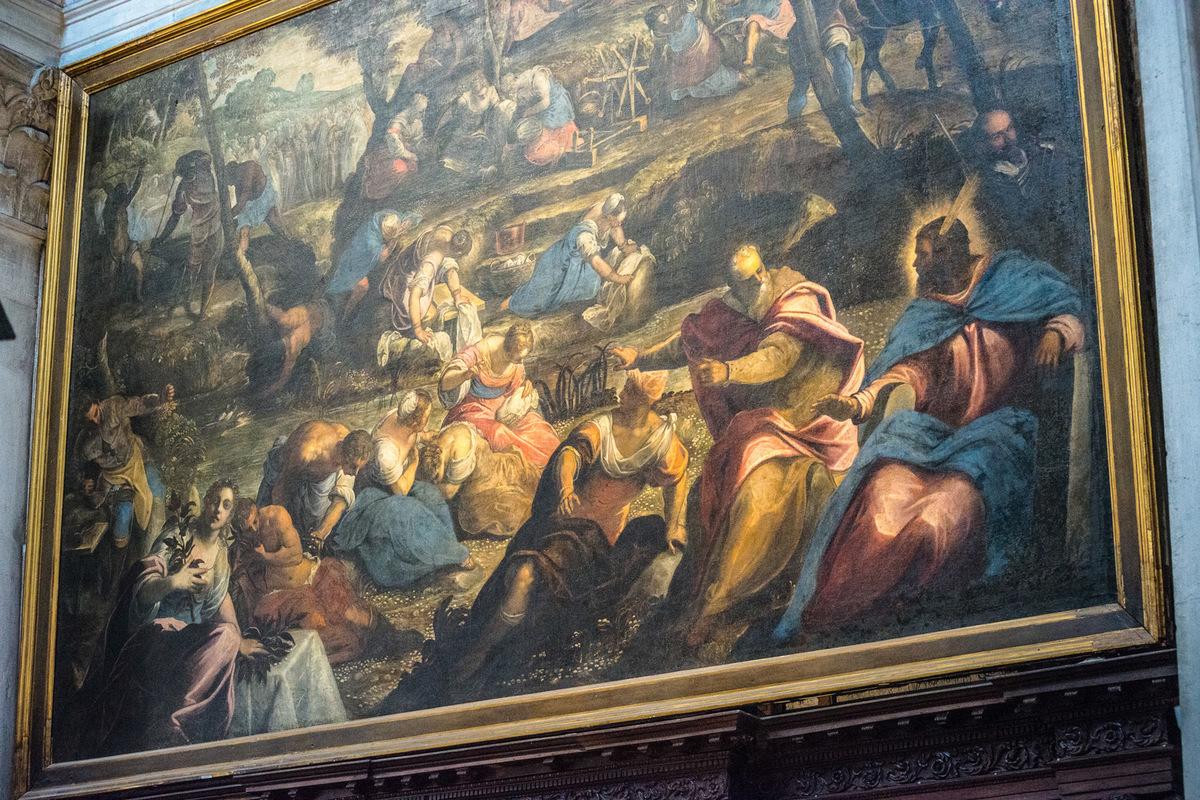 Fabien Delairon photographe - Italie - Venise - Giorgio Maggiore - RÉCOLTE DE LA MANNE par Tintoret