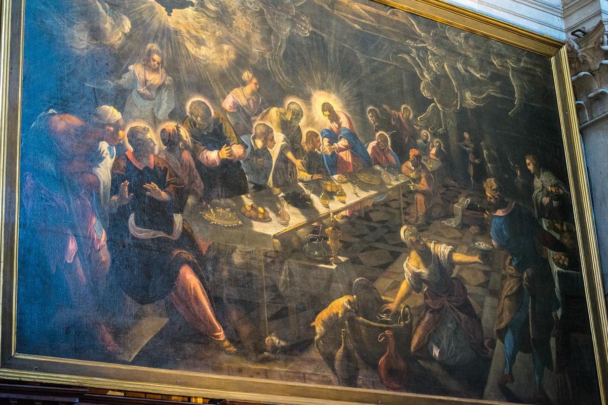 Fabien Delairon photographe - Italie - Venise - Giorgio Maggiore - La Cène par Tintoret