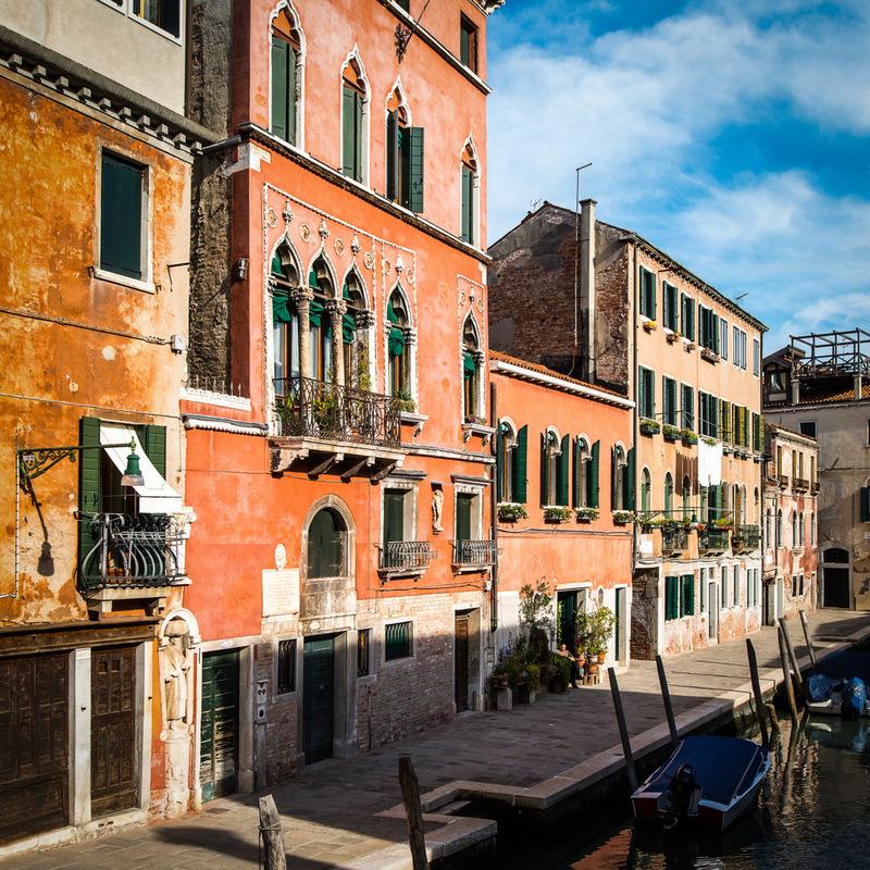 Fabien Delairon photographe - Italie - Venise, Quartier Cannaregio - Maison du peintre Tintoret