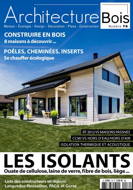 Fabien Delairon photographe - Parution magazine Architecture Bois et Dépendance