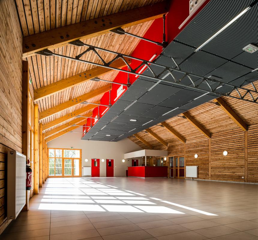 Fabien Delairon photographe - Mairie et Salle polyvalente - Architectes : Louis et Périno