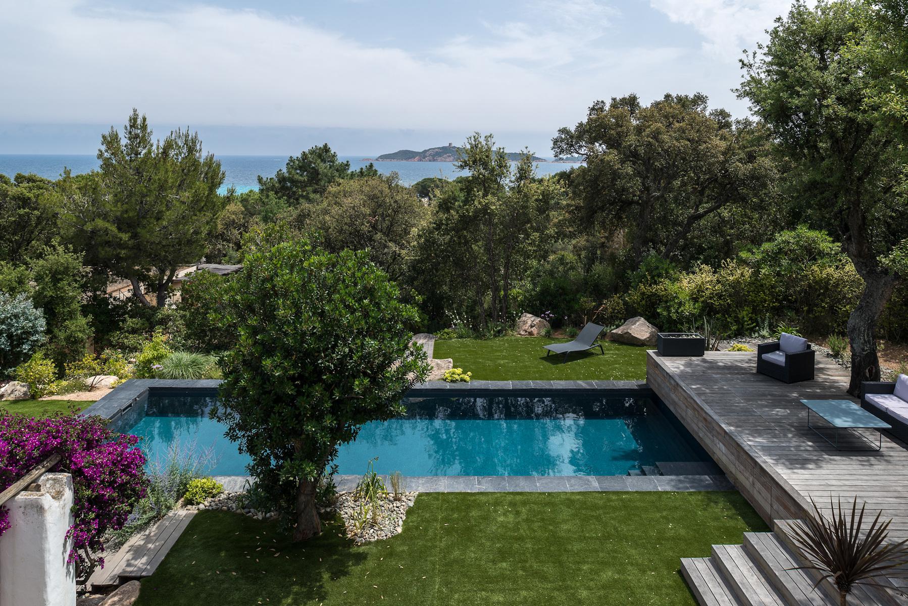Fabien Delairon photographe - Piscine Vert Turquoise en Corse