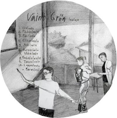r i t s t i f t - Väinö Grön CD (2011)
