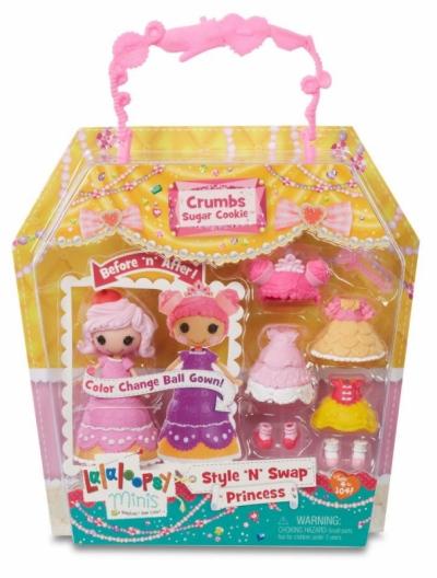 Min Kim - Mini Lalaloopsy Style N Swap Doll - Princess Crumbs