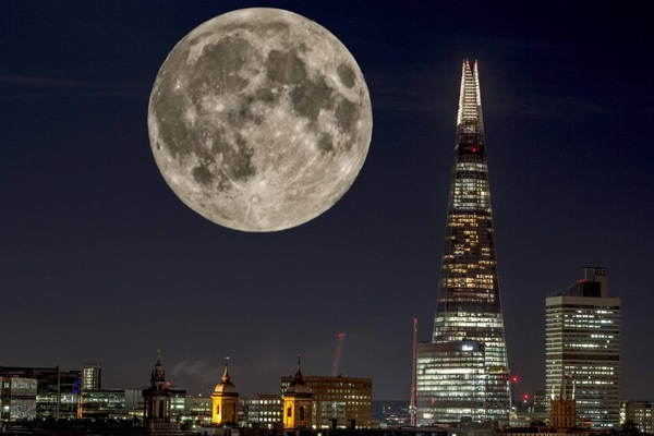 David Wallace London Photographer - Lunar Shard.