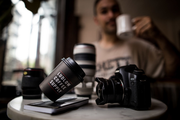 David Wallace Shoots Photographer - #CoffeeFliicks