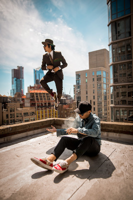 David Wallace Shoots Photographer - NYC Above