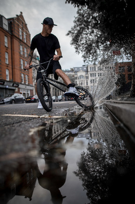 David Wallace Shoots Photographer - Blasting in the streets