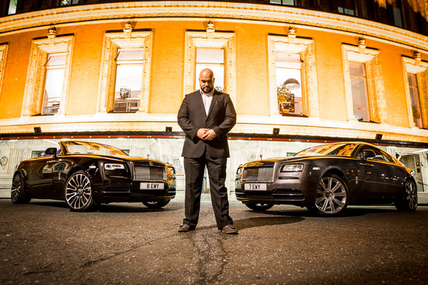 David Wallace Shoots Photographer - Rolls Royce
