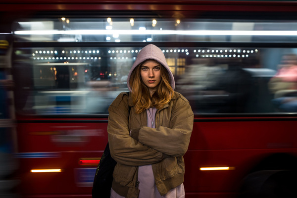 David Wallace Shoots Photographer - London Nights