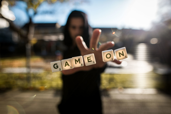 David Wallace Shoots Photographer - Game On