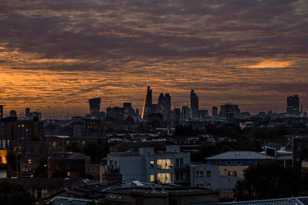 David Wallace London Photographer - LDN from the East.