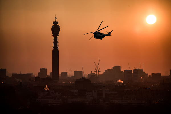 David Wallace Shoots Photographer - London, BT Tower.