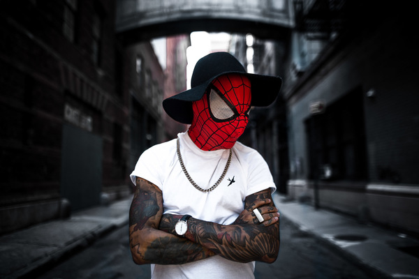 David Wallace London Photographer - Spider-man