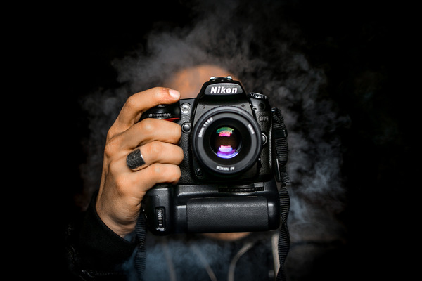 David Wallace Shoots Photographer - D90