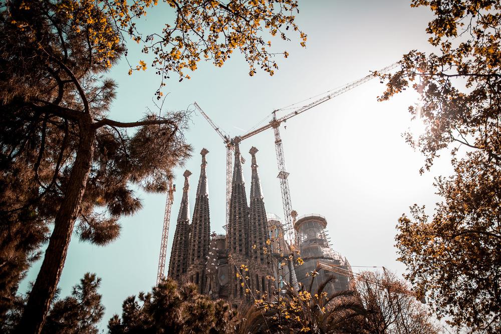 David Wallace Shoots Photographer - BCN,Sagrada Familla
