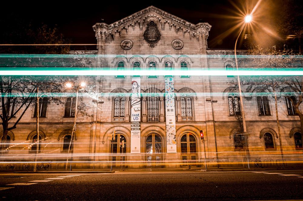 David Wallace Shoots Photographer - Barcelona Uni