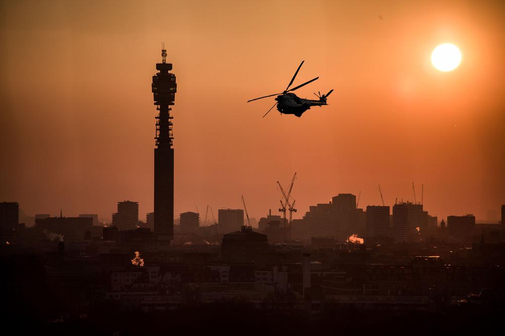 David Wallace Shoots Photographer - London, BT Tower.