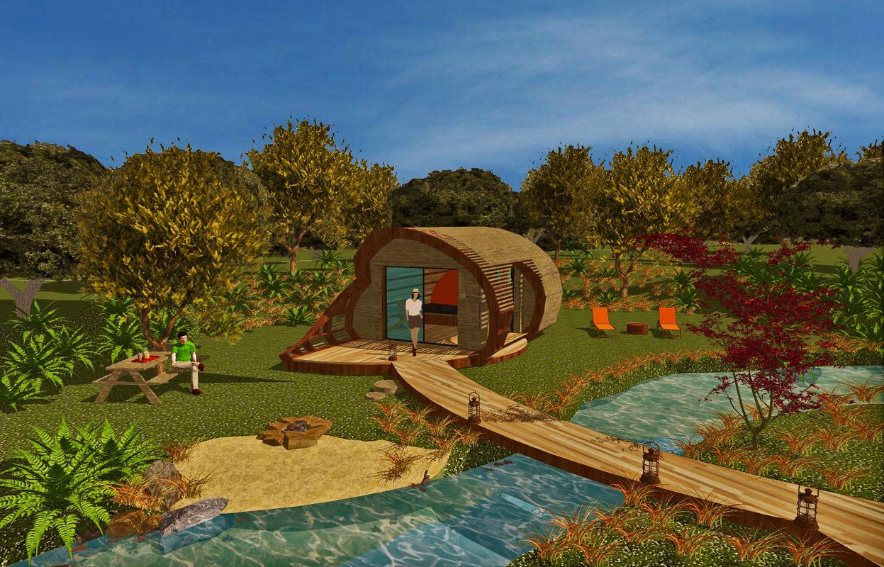 Habitat insolite et écologique - TyKabane - I Simulation dimplantation I