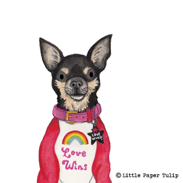 Little Paper Tulip - Dolly Pawton is looking super sassy and fabulous