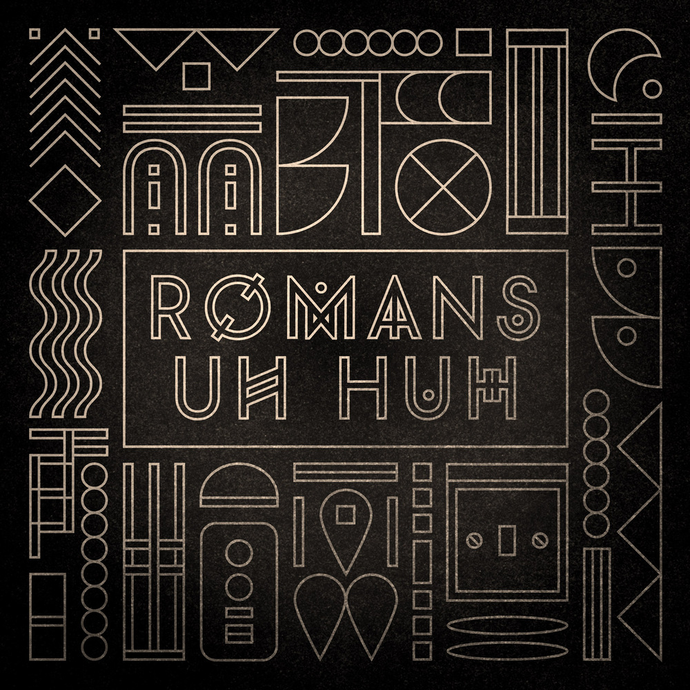 Oliver Chapman - Packshot design for Romans - Uh Huh. Completed whilst at Studio Moross