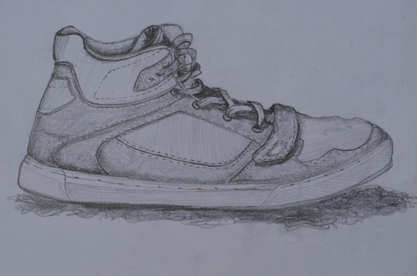 Create and Grow-Portfolio - Shoe sketch