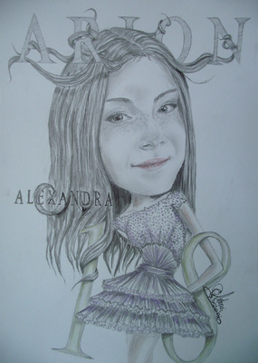 Create and Grow-Portfolio - Fashionable-caricature for a 18th birthday.