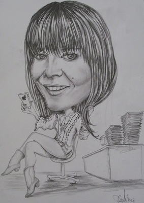 Create and Grow-Portfolio - Always on phone-caricature.