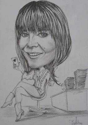 Create and Grow-Portfolio - Always on phone-caricature.