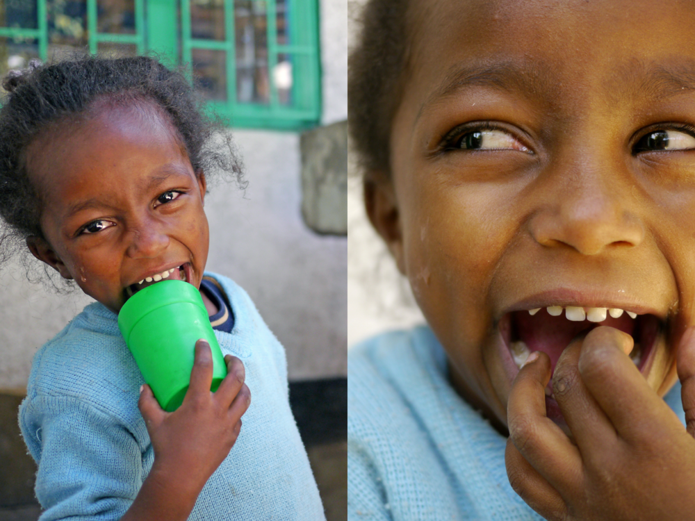 Ben Golik - A young girl at the Eneredada project.