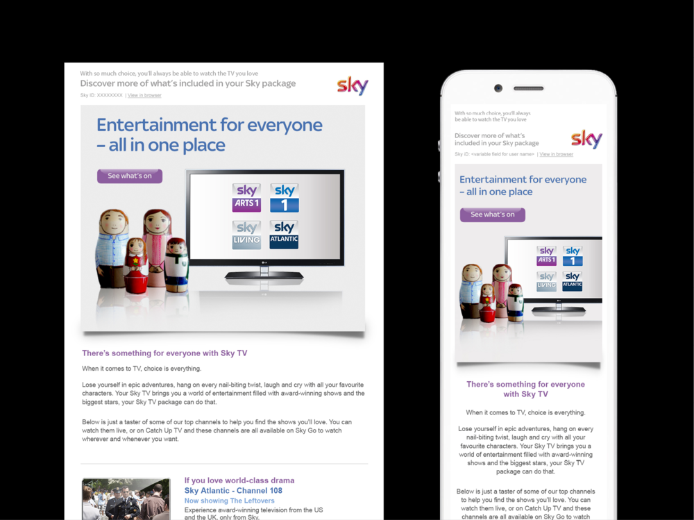 Ben Golik - A Sky subscription delivers customers a box full of tricks. But unless they take the time to learn what each one does, customers can feel they're not getting value for money.
