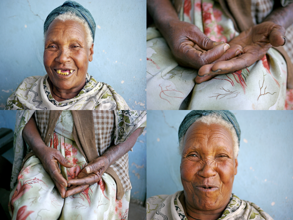 Ben Golik - For me, Wagay sums up the strength of her nation. She needs help to get up, but prefers to be on her feet. She walks slowly, but carries food to those who are less mobile. She has little, but shares it eagerly. I am not naïve. I know there is real hardship in Ethiopia. I heard from hungry mouths. Shook empty hands. But there is also a true dignity and spirit in its people. There is something about meeting people who have worked so desperately to get one foot up, that impels you to help them with the other.