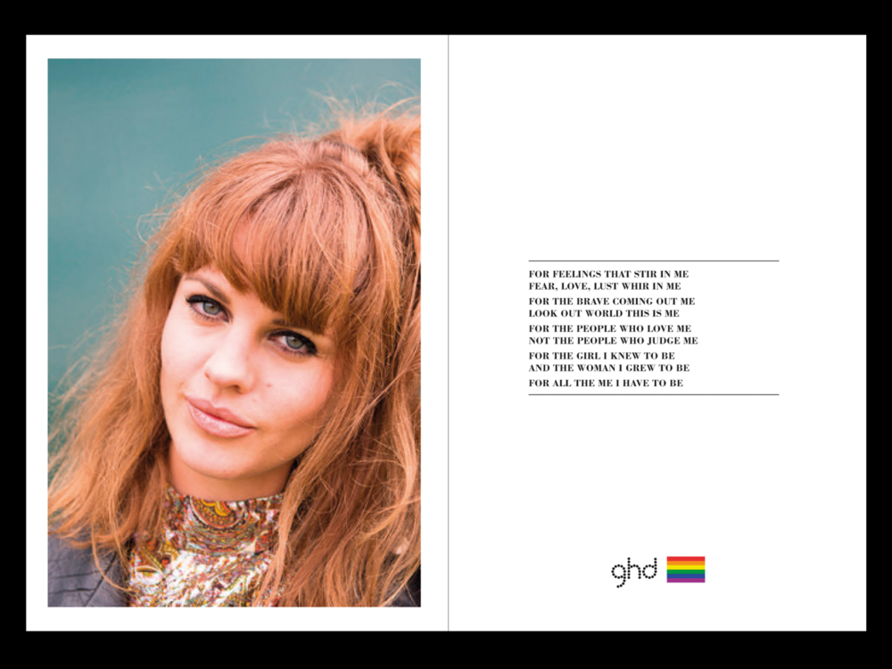 Ben Golik - Extensions of the idea and tone of voice were created. This one in support of LGBT Pride.